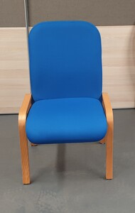 additional images for Royal blue meeting chair