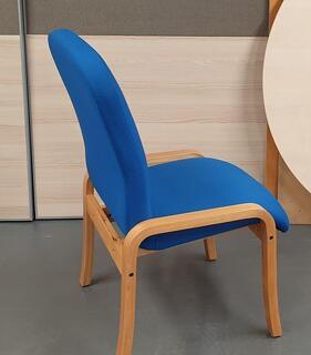 Royal blue meeting chair