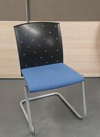 additional images for Blue and black meeting chair