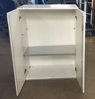 White wooden cupboard 1080h