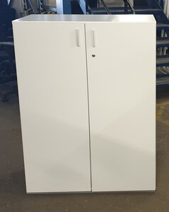 additional images for White wooden cupboard 1080h