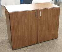 additional images for Walnut wooden server cabinet