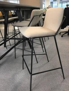 Wenge 3200x1000mm poseur table amp 8 stools