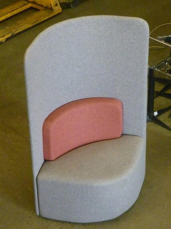 additional images for Light grey Boss Design Shuffle chairs