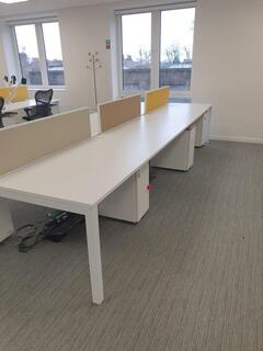 Herman Miller layout bench desks