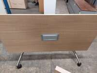 additional images for Oak flip top table 1600w