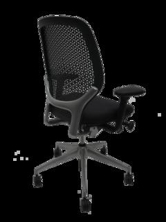 Orangebox ARA black task chair CE