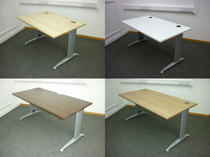 additional images for 1200-1800mm NEW top of your choice on silver metal frame. From £120 to £155