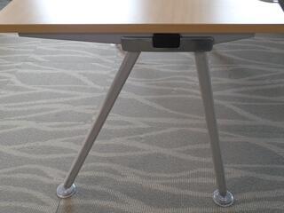 Senator Core Highland Oak single desks