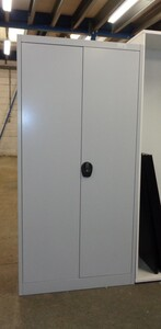 additional images for Light grey metal cupboard 1960h