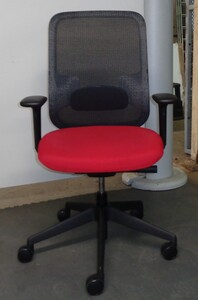 additional images for Orangebox DO red and black task chair