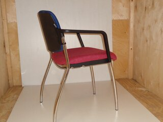 REDSPACE blue and pink meeting chair