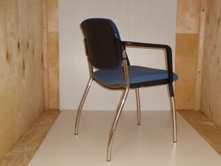 REDSPACE blue two tone meeting chair