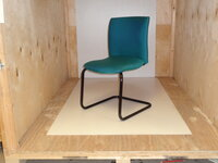 additional images for Comforto meeting chair aqua