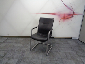 additional images for Connection leather meeting chair