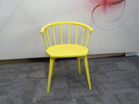 additional images for Andy Thornton yellow W. lounge chair
