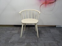 additional images for Andy Thornton off white W. lounge chair