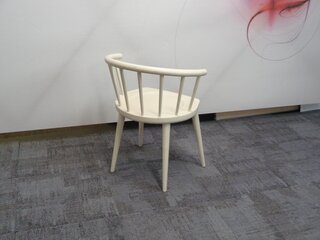Andy Thornton off white W lounge chair
