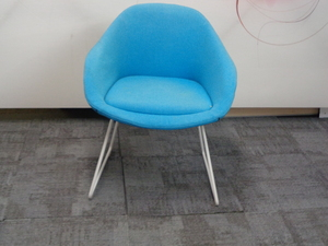 additional images for naughtone always chair in turquoise