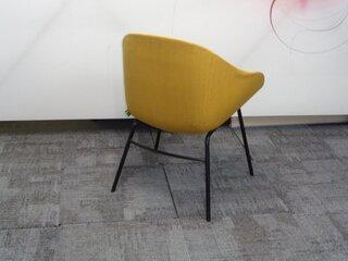 naughtone always chair in mustard
