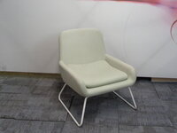 additional images for Low pale green armchair