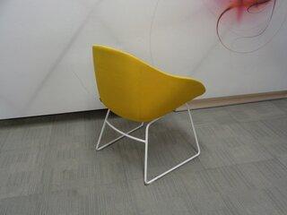 naughtone always chair in yellow