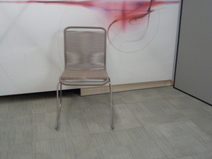 additional images for Coffee string and metal chair
