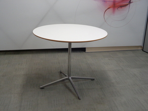 additional images for Allermuir circular white top table