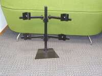 additional images for Quad screen monitor mount