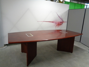 additional images for Cherry Veneer Boardroom Table