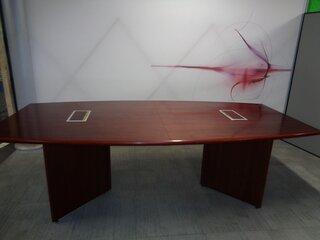 Cherry Veneer Boardroom Table