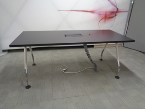 additional images for Black Boardroom Table