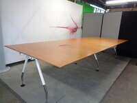 additional images for Large Cherry Boardroom Table