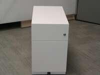 additional images for White slimline pedestal
