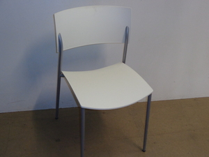 additional images for White stacking chair