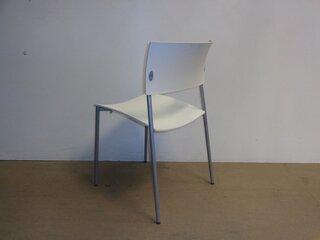 White nbspstacking chair