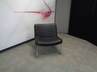 additional images for Low black armchair