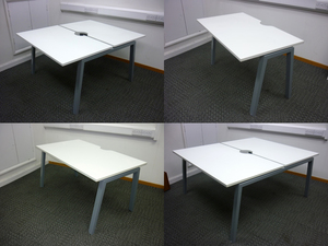 additional images for Flexiform Jot white 1200 and 1400mm pairs and singles, per person