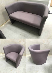 additional images for Grey Torasen Concha tub sofa and chairs