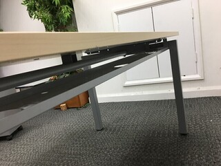 1600 amp 1400x800mm maple Gresham desks