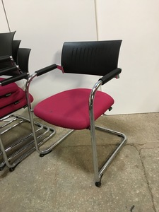 additional images for Dauphin Teo stacking meeting chair