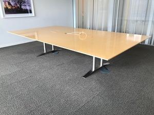 additional images for 3300x1800mm Luke Hughes maple veneer table