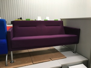 additional images for Purple 2 seater sofa
