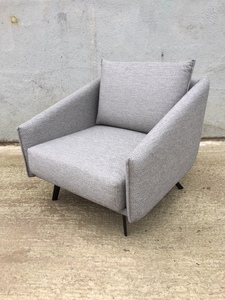additional images for Andreu World grey armchair