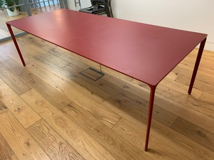 additional images for 2400x1200mm red Arper Nuur table
