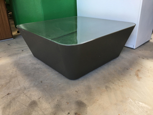 additional images for Glass cone shape square coffee table