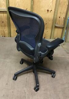 Bluegraphite Herman Miller Aeron chairs