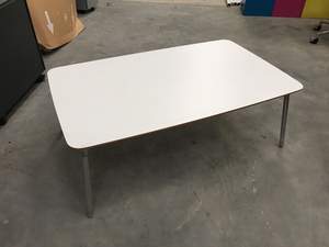 additional images for Orangebox white 1100x550mm coffee table