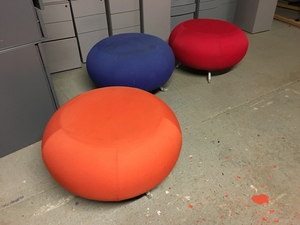 additional images for Allermuir Pebble stools