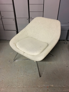 additional images for Cream Allermuir Open Lounge Chair